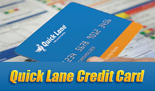 Porter Quick Lane Credit Card