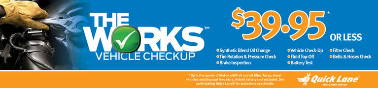The Works Vehicle Checkup